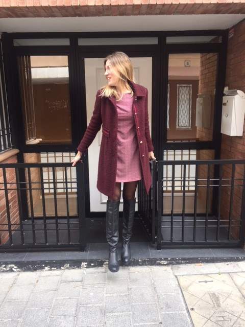 Total look burgundy para altas 2