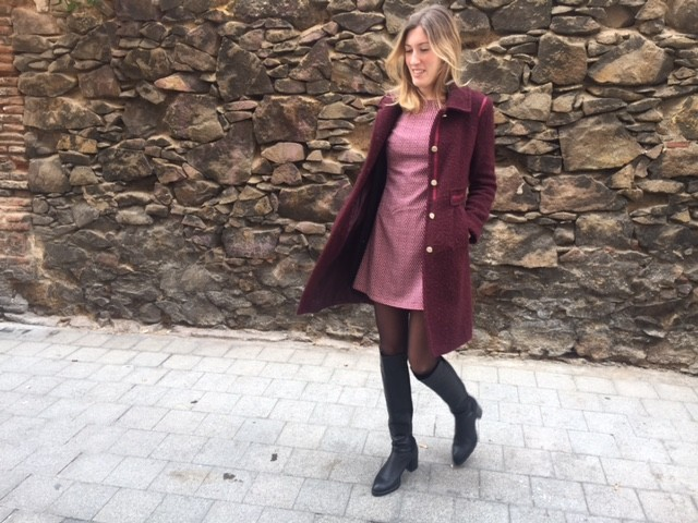Total look burgundy para altas 3